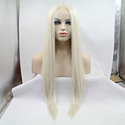 Synthetic Lace Front Wig Straight Middle ...