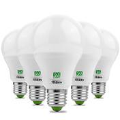 YWXLIGHT® 5pcs 7W 600-700lm E26 / E27 LED...