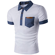 Men's Street chic Polo - Geometric Shirt ...