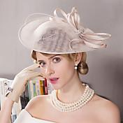 Flax Rhinestone Feather Fascinators Hats ...
