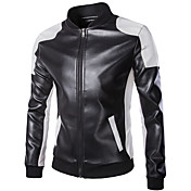 Motorcycle Clothes Jacket PU Leather All ...