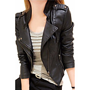 Women's Going out Street chic Faux Leathe...