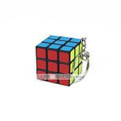 Cubo de rubik Cubo velocidad suave Liso Pegatina muelle ajustable Cubos Mágicos Llavero