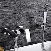 Bathtub Faucet - Contemporary Chrome Wall...