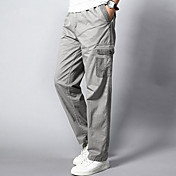 Men's Plus Size Straight Loose Sweatpants...