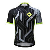Mysenlan Men's Short Sleeve Cycling Jerse...