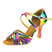 Women's Latin Jazz Swing Shoes Salsa PU S...