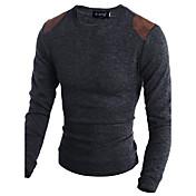 Men's Weekend Long Sleeves Wool Slim Long...