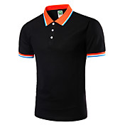 Men's Active Plus Size Slim Polo - Solid ...