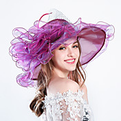 Feather Silk Organza Fascinators Hats Hea...