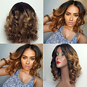 Human Hair Glueless Lace Front / Lace Fro...