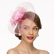 Net Fascinators / Hats / Headwear with Fl...
