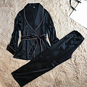 Women's Satin Suits Satin & Silk Robes Ni...