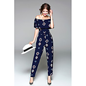 Women's Going out Holiday Jumpsuit - Art ...