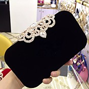 Women's Bags Velvet Evening Bag Rhineston...