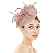 Plastic Fascinators Flowers Headwear with...