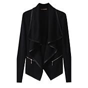 Women's Cotton Jacket - Solid Colored Pet...