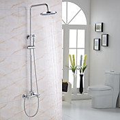 Shower Faucet - Modern / Contemporary Chr...