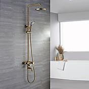 Shower Faucet - Luxury Glam Ti-PVD Wall M...