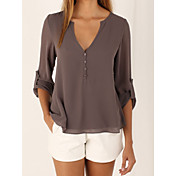 Women's Going out Casual Loose Blouse - S...