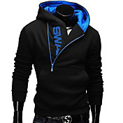 Men's Active Long Sleeve Hoodie - Color B...