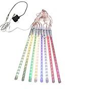0.3m String Lights 18*8 LEDs White / Blue...