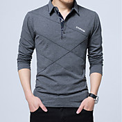 Men's Work Active Cotton Slim Polo - Soli...