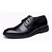 Men's Shoes Leather Fall Comfort Oxfords ...