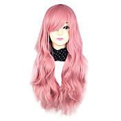 Lolita Wigs Pink Cosplay Curly Lolita Wig...