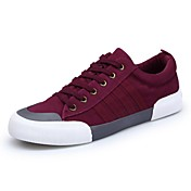 Men's Shoes Flocking PU Spring Fall Comfo...