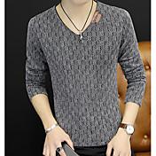 Men's Weekend Long Sleeve Slim Pullover -...