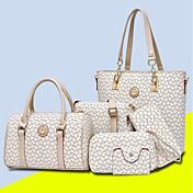Women's Bags PU Bag Set 5 Pieces Purse Se...