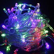 10m String Lights 100 LEDs Warm White / R...