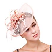 Tulle Flax Net Fascinators Flowers Headpi...
