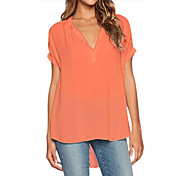 Women's Holiday Street chic Blouse - Soli...