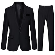 Men's Cotton Suits - Solid Colored