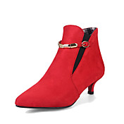 Women's Shoes Leatherette Fall Winter Com...