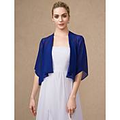 Half Sleeves Chiffon Wedding Party / Even...