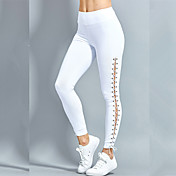 Women's Solid Color Legging - Ripped, Sol...
