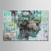Oil Painting Hand Painted - People Comtem...