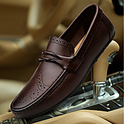 Men's Moccasin Nappa Leather Fall / Winte...