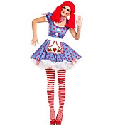Burlesque Clown Circus Cosplay Costume Pa...