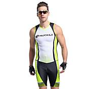 Nuckily Men's Short Sleeve Triathlon Tri ...