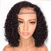 Human Hair Lace Front Wig Brazilian Hair ...