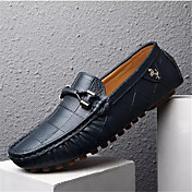Men's Shoes Pigskin Spring / Fall Moccasi...