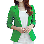 Women's Work Blazer - Solid Color, Print