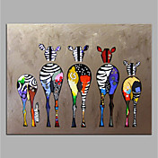 Oil Painting Hand Painted - Animals Pop A...