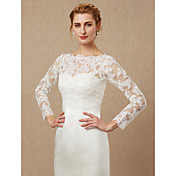 Long Sleeves Lace Tulle Wedding Party / E...