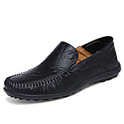 Men's Comfort Loafers Cowhide Spring / Su...