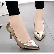 Women's Shoes PU Spring Fall Basic Pump C...